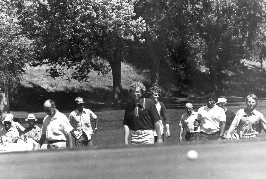 1971 Upper Midwest Bronze Open Golf Tournament - Steve Howe - 5th Green - Hiawatha Golf Course