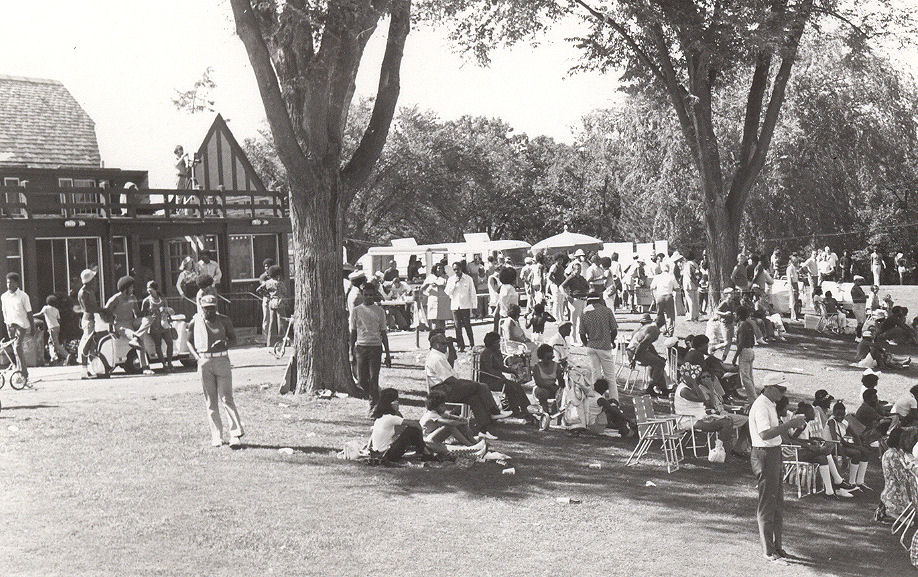 1971 Upper Midwest Bronze Open Golf Tournament - Gallery - Hiawatha Golf Course
